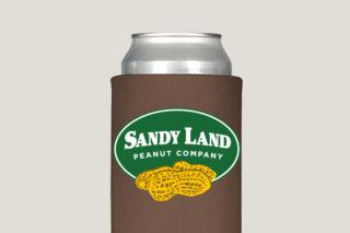 Sandy Land Peanut Company Koozie