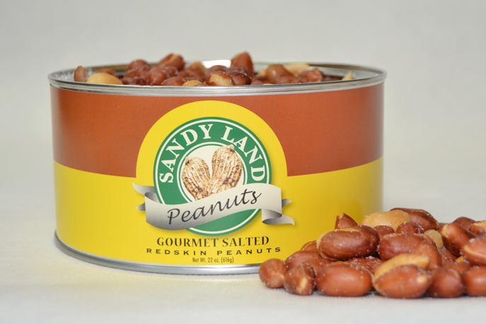 Virginia Salted Redskin Peanuts